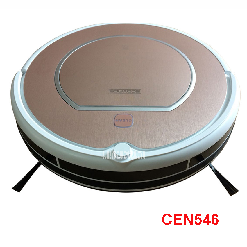 CEN546 110-220V Mini Robot Vacuum Cleaner for Home Automatic Sweeping Dust Sterilize Smart Planned Mobile App 0.3L Dust box original xiaomi mi robot vacuum cleaner for home automatic sweeping dust sterilize smart planned mobile app remote control