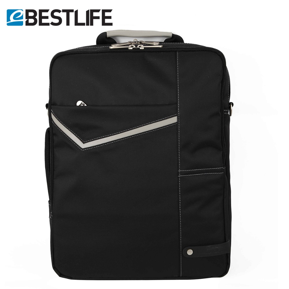 BESTLIFE 3 Carry Ways Travel Business Backpack Case Black Nylon Shoulder Cross Body Computer Bag Commuter Laptop Bags For Men аксессуар jawbone big jambox carry case j2011 03 case rp black