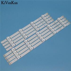 """Image 2 - Tira de LED para iluminación trasera de lámparas para LG 39LA6208 39LA620S 39LA620V 39la6218 za, juego de barras, banda de LED POLA2.0, 39 """", tipo A B"""