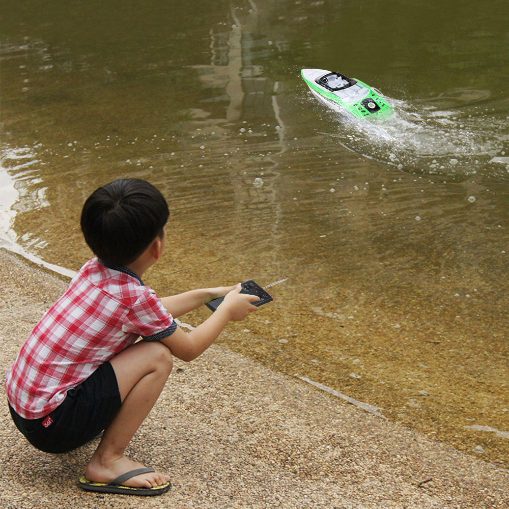 3392M RC Boat Portable Micro RC Racing Boat Remote Control Ship ...