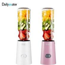 лучшая цена 220V Portable Juicer Blender Cup Smoothie Maker Blender Multi-function Fruit Vegetable Juice Extractor WithTritan Material 150W