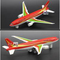 Hot Sale Alloy Model Airbus Metal Airplane Diecast Plane Lighted Dinky Sound Airplane Toy Brinquedos Best