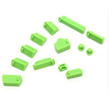 13Pcs/set Silicone Anti Dust 13 Plug Cover Set Stopper 13pcs Laptop anti dust plug laptop dustproof plug usb dust plug 9 colors