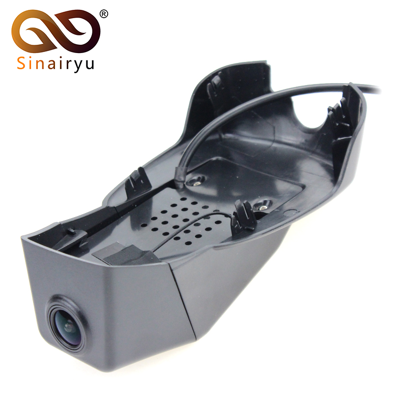 Sinairyu WiFi DVR mini Dash Camera for Volvo S90 V90 CROSS COUNTRY T5 Control by Hidden