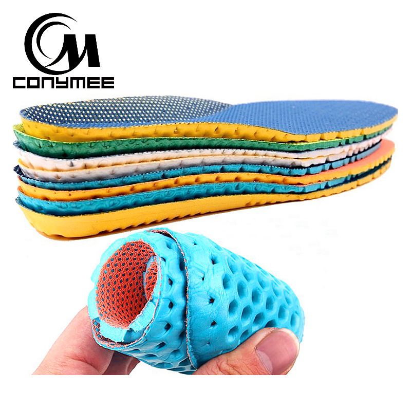 Shoe Insole Men Women High Arch Support Sneakers Foam Insoles Shock Absorption Shoes Insert Pads Anti Slip Shoe Pads Shoe Sole image