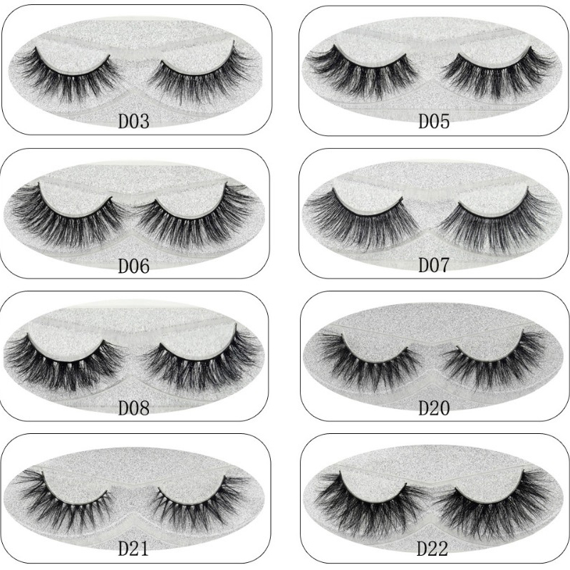 7a633fd9bb0 Lash Mink Eyelashes 3D Mink Hair Lashes Wholesale 100% Real Mink Fur Handmade  Crossing Lashes Thick Lash 11 Styles New 1Pair