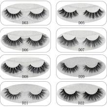 Lash Mink Eyelashes 3D Mink Hair Lashes Wholesale 100% Real Mink Fur