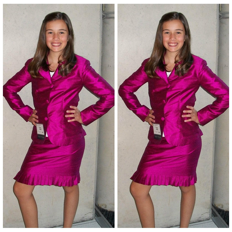 4ed12194d7 Fuchsia Flower Girl Dress Pageant Interview Formal Dresses Children's  Clothes Girl Beauty Interview Suit to Wear Long Sleeves-in Flower Girl  Dresses from ...