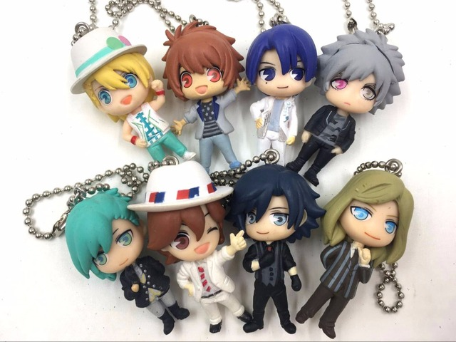 TAKARA TOMY Artes/Uta no Príncipe-sama Maji Love 1000% anime japonés figura de PVC colección móvil teléfono /llavero/Correa