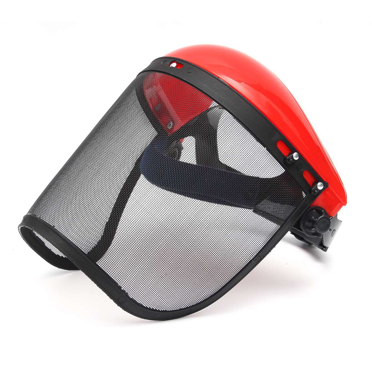 Clear + Mesh Full Visor Flip Up Face Shield Screen Safety Mask Eye Protector Protective Mask Workwear chainsaw safety helmet w visor face protector hat eye protection free shipping outdoor brushcutter guard trimmer shield