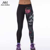 2015 New Sexy Gym Women S Sports Leggings Fitness Workout Trousers 22 Styles 3D Print Running