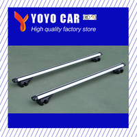High quality 2 pieces Alumiunium alloy silver color roof cross bar for PAJERO SPORT pajero sport