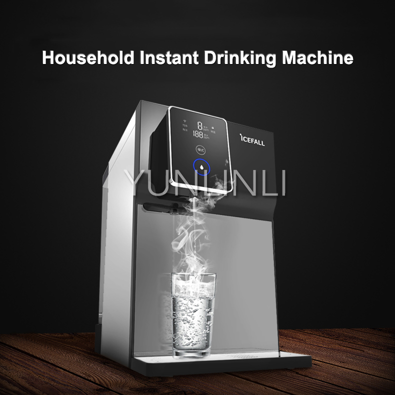 Permalink to Household Intelligent Water Purifier Direct Drink Water Filtration Machine  Free Installation Water Filter  YR100-A