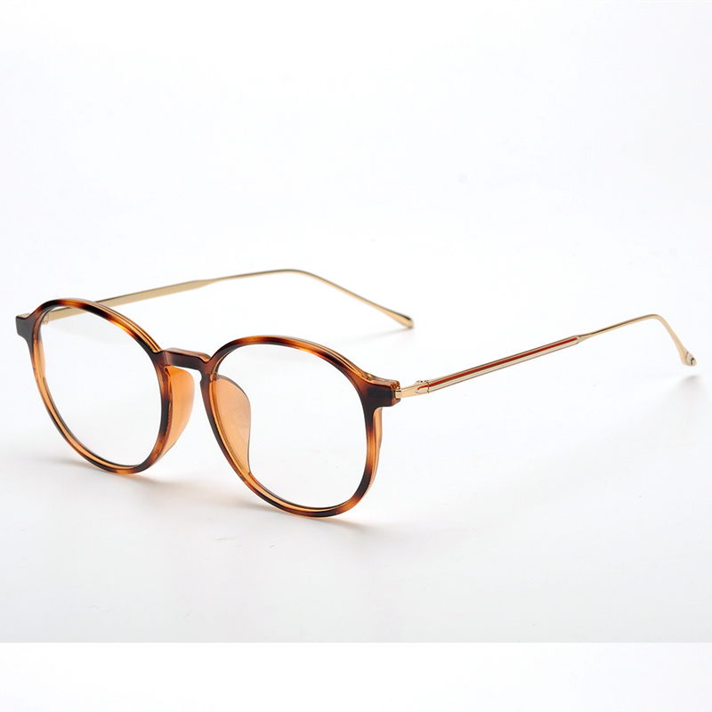 Optical Eyeglasses round Frame Men Women Computer Myopia Eye Glasses Spectacle Frame Women's Female TB915 with box