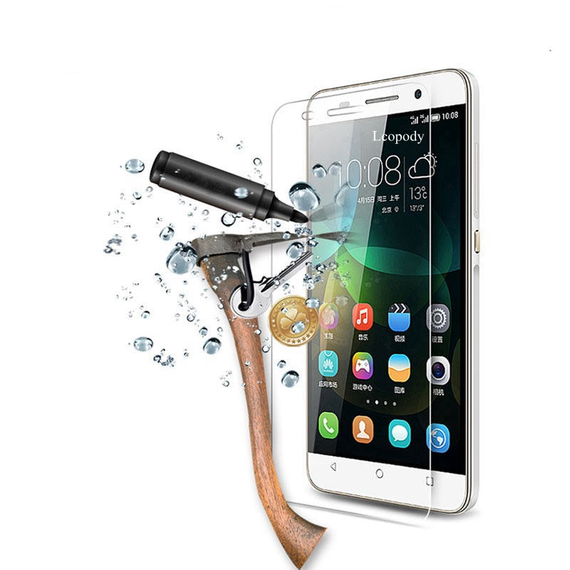 9H Tempered <font><b>glass</b></font> FOR <font><b>Huawei</b></font> <font><b>Honor</b></font> 8 4X <font><b>5x</b></font> 6X Y560 5A 4C Pro y6 pro p8 lite 2017 Screen Protector Film sklo ON for <font><b>HUAWEI</b></font> glas image