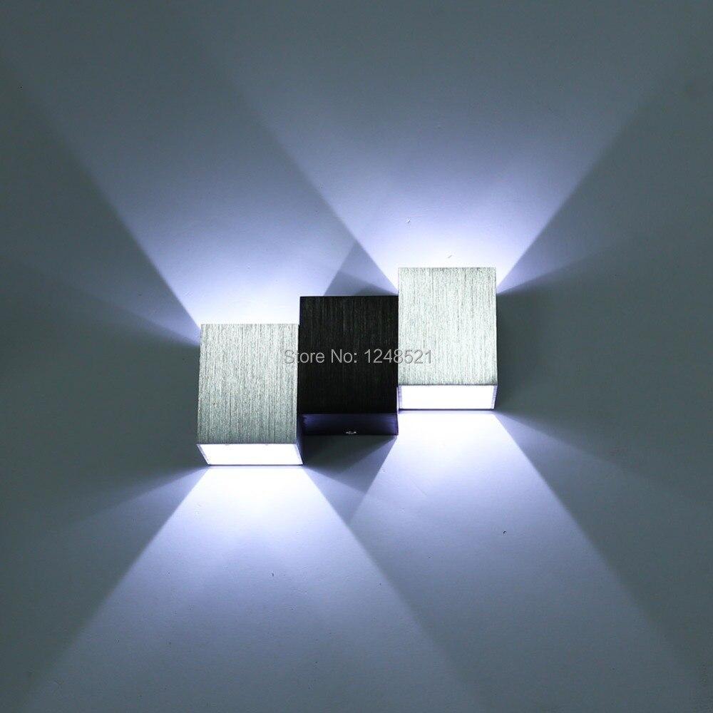 Llevados modernos l mparas de pared apliques 3 w de - Luces de lectura ...