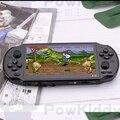 Powkiddy 5,1 Zoll 8G Retro Spielkonsole HD Bildschirm Dual Joystick Handheld-Spiel-Spieler Familie TV Retro Video Konsolen eingebaute 1