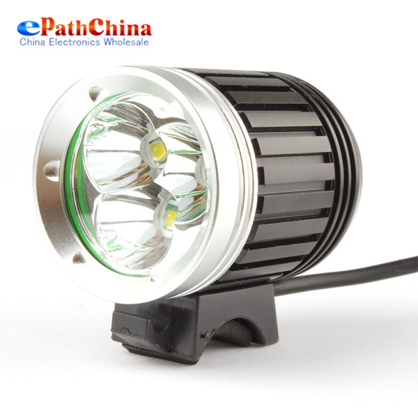 Sales Waterproof 3600Lm 3 xXMLT6 LED Bicycle Front Light ...
