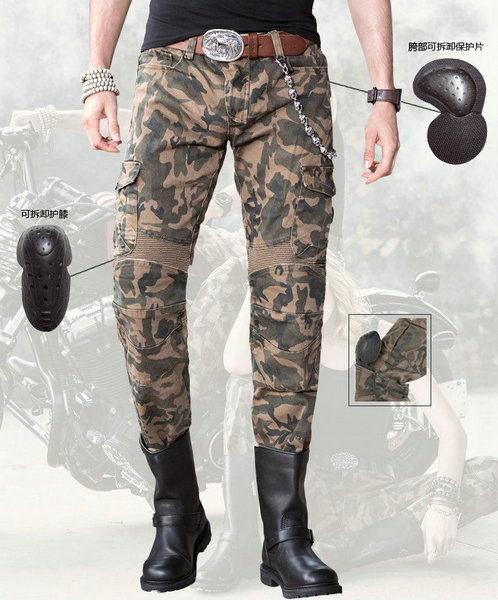 2016 new arrival motocross pants duhan ton up pants jeans uglybros motorcycle road horse with four sets of protective equipment the locomotive car off road motorcycle 4 sets of four summer leggings kneecaps fall proof stainless steel brace length