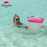NatureHike 28L Waterproof Dry Storage Bag Inflatable Floating Bag Traveling Snorkeling Rafting Drifting Bag Swimming Bag