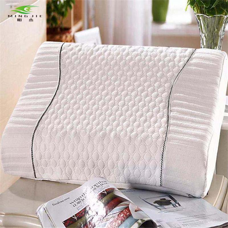 Romanee Brand Home New Neck Ortopedisk Kudde Polyester Fibervåg - Hemtextil