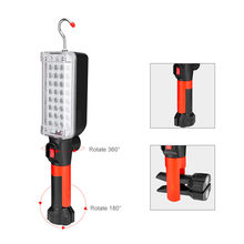 2019 new products Multifunction 34SMD LED Slim Work Light Lamp Flashlight Magnetic With Hook Accessories tool Home Household(China)
