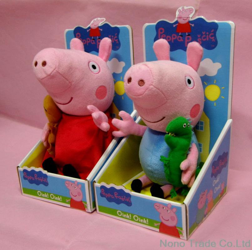 Peppa Pig Toys Hot Sale Anime Baby Toys 30cm Peppa Pig
