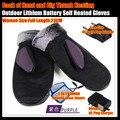 Mujeres 3.7 V / 2000 MAH guantes de calefacción eléctrica, batería de litio al aire auto calentado guantes, espalda de la mano y pulgar calefacción 3 h, ee.uu. y la ue Plug