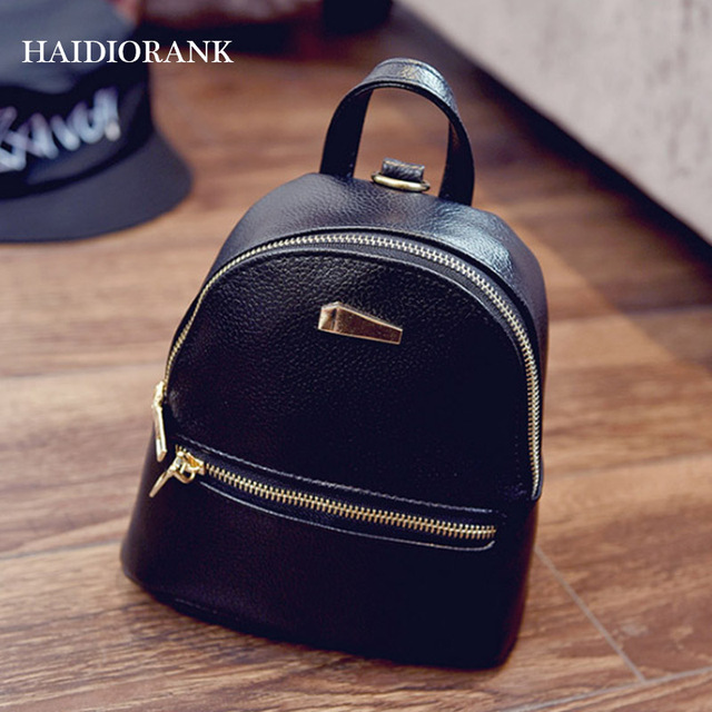 Women s Backpack 2018 Fashion School Little Backpacks For Teenage Girls LU Leather  Bag Waterproof Small BagPack Mini Backpack 9e03b8551e6fb