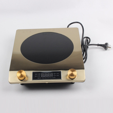 DMWD 3000W Large Power Waterproof Induction Cooker 220V High Frequency Electric  Stove Portable Kitchen Heating Plate