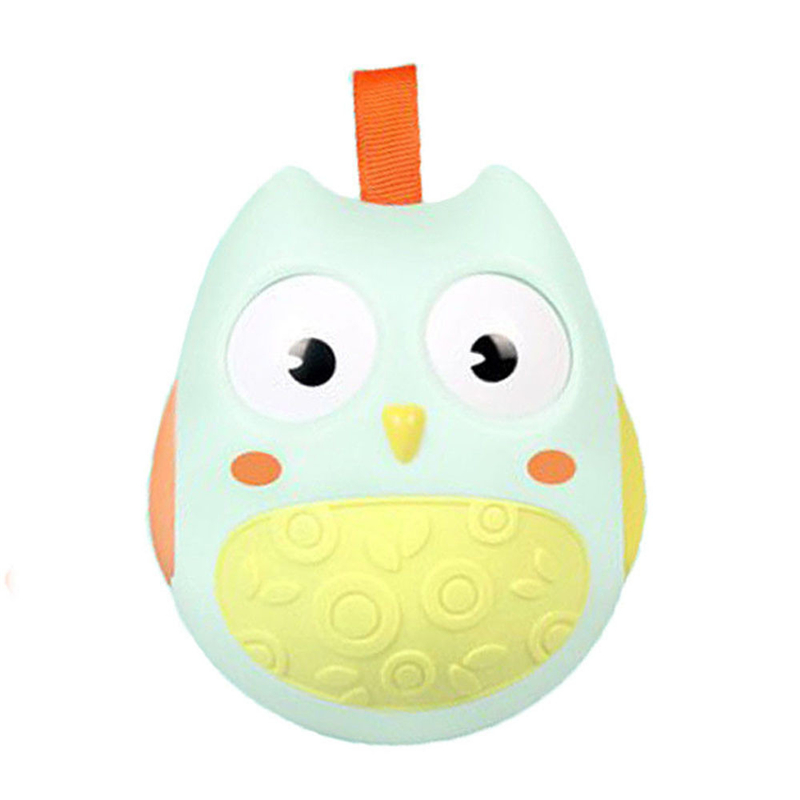 Baby Owl Roly-poly Toy Developmental Toys Child Kids Educational Toy Gift Creative Funny ...