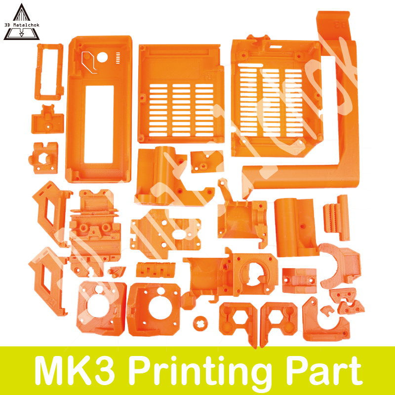 3d Matalchok Pla Material Full Printed Parts For Diy Prusa I3 Mk3 3d Printer Plastic Parts Kit Durable In Use|3D Printer Parts & Accessories| |  - title=