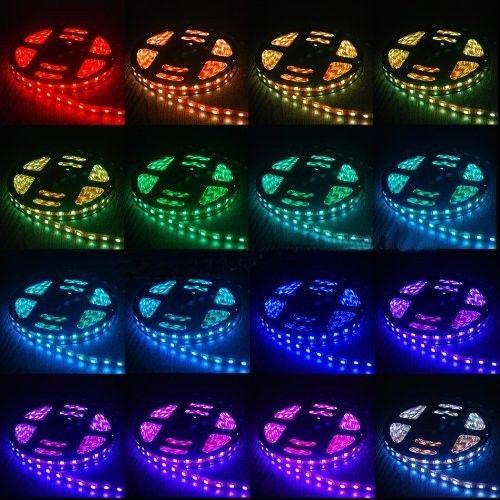 жолақты жарық 5050 RGB таспалы су - LED Жарықтандыру - фото 4
