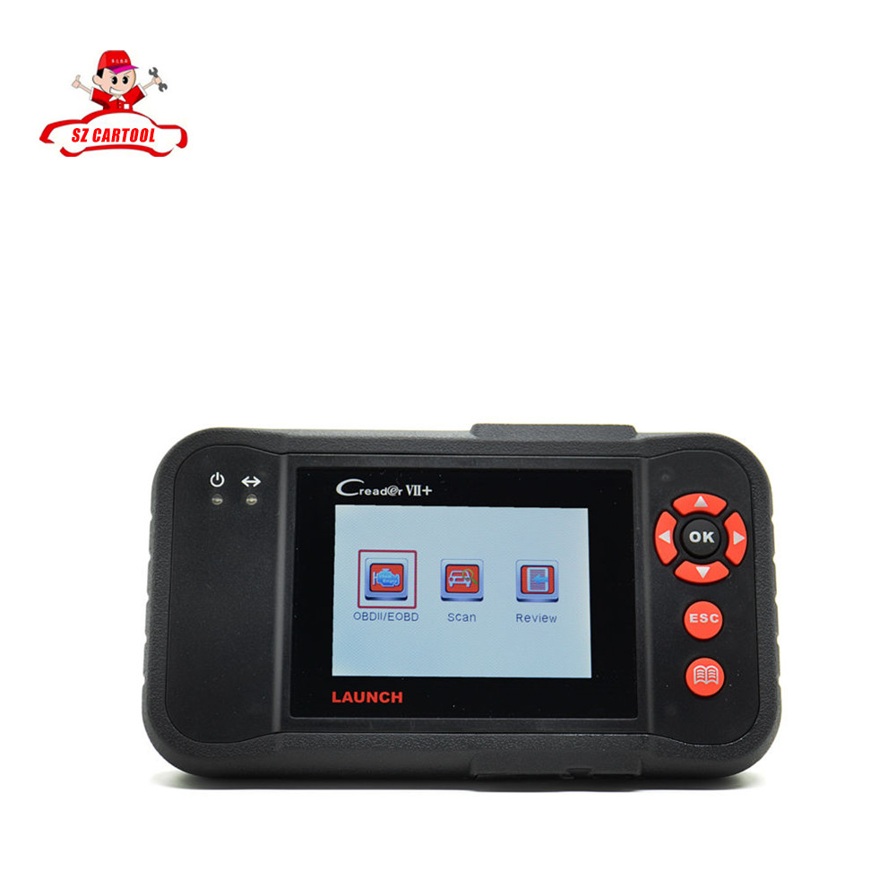 Newest version 100% Launch X431 Creader VII+ CRP123 Multi-language Code Reader Update online x431 creader 7+