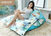 Factory Direct Custom Lazy Chair Creative Leisure Bean Bag Animal World Swim Spa Sofa Lazy Bones