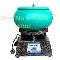 Free Shipping Hot Vibratory Polishing Machine Vibrating Rock Tumbler Vibratory Tumbler jewelery tools