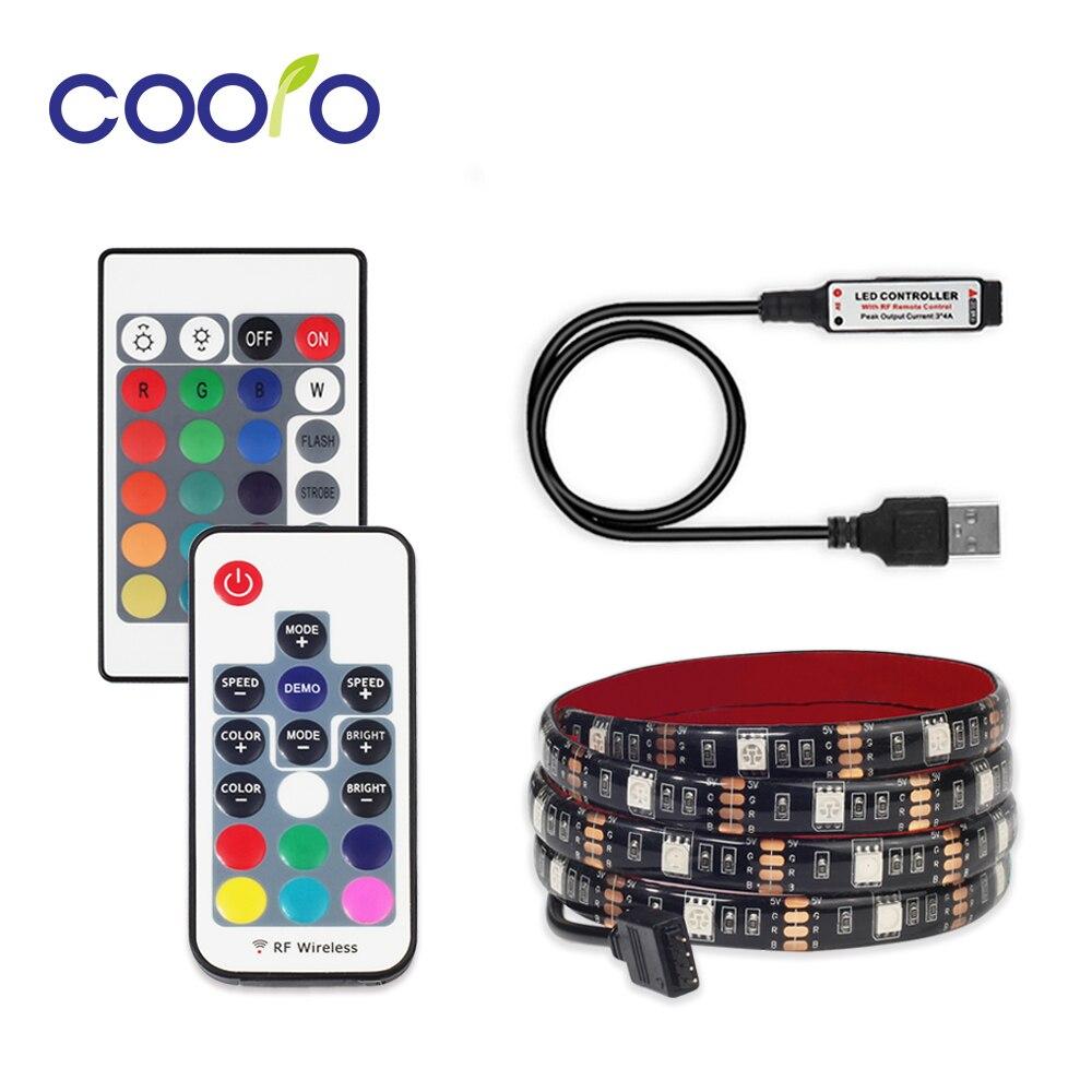 rgb-led-strip-waterproof-dc-5v-usb-led-light-tape-flexible-lighting-5050-05m-1m-2m-with-remote-for-tv-backlight
