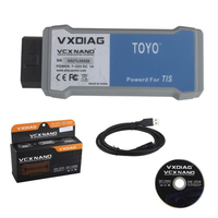 VXDIAG VCX NANO for TOYOTA TIS Techstream V10.10.018 Compatible with SAE J2534 for toyota it3 Free Shipping
