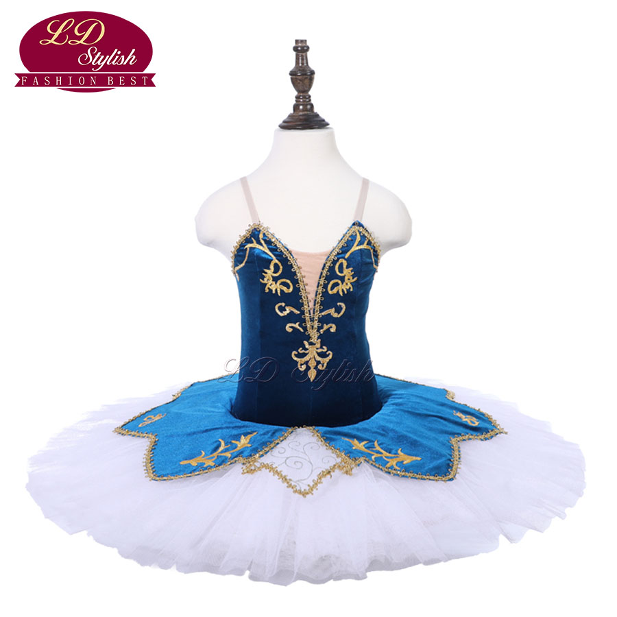 girls-blue-professional-font-b-ballet-b-font-tutu-the-nutcracker-performance-dancewear-kids-classical-font-b-ballet-b-font-dance-competition-costumes-adult