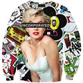 Autumn Unisex Casual 3D INCORPORATED Marilyn Monroe Printed Sporting Wear Autumn Tops Sweatshirts Hoodies Custom Free Shipping