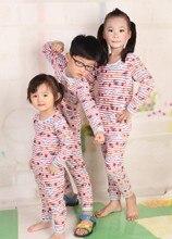 Enfants Vêtements ropa mujer Fille Ensemble Garçon Infantile Sous-Vêtements Thermiques Ensembles Bébé Pantalon Blouse remeras bebe blusas infantil menina