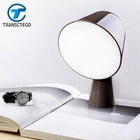 Led 램프 책상 독서 조명 단순 감소 디자인 테이블 램프 침실 침대 옆 테이블 램프 장식 조명