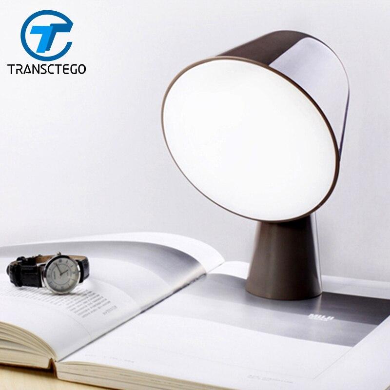 Lampen & Schirme Led-lampe Schreibtisch Leseleuchten Einfachheit Reduziert Design Tischlampen Für Schlafzimmer Nachttischlampe Dekoratives Licht