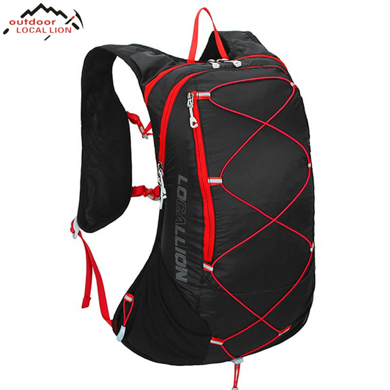 LOCALLION Lightweight Outdoor Bicycling Backpack Biking Rucksack Cycling Knapsack Riding Running Packsack Sports Backpack 15L locallion 20l unisex bicycling hiking climbing cycling backpack outdoor riding running rucksack sports bag