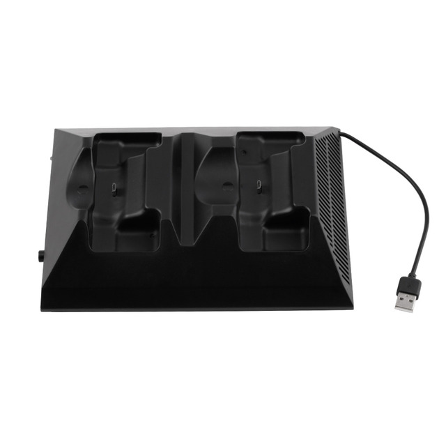 2017 4 in 1 Multifunction Charging Dock Station Charging Station With Cooling Cooler Fan For Xbox One USB Controller