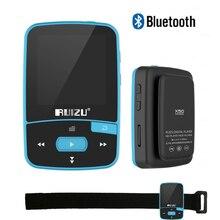 Mini Original RUIZU X50 Sport Clip Bluetooth Reproductor de MP3 8 GB Reproductor de Música Soporte de Tarjeta TF, Radio FM, grabación, e-libro, Cronómetro
