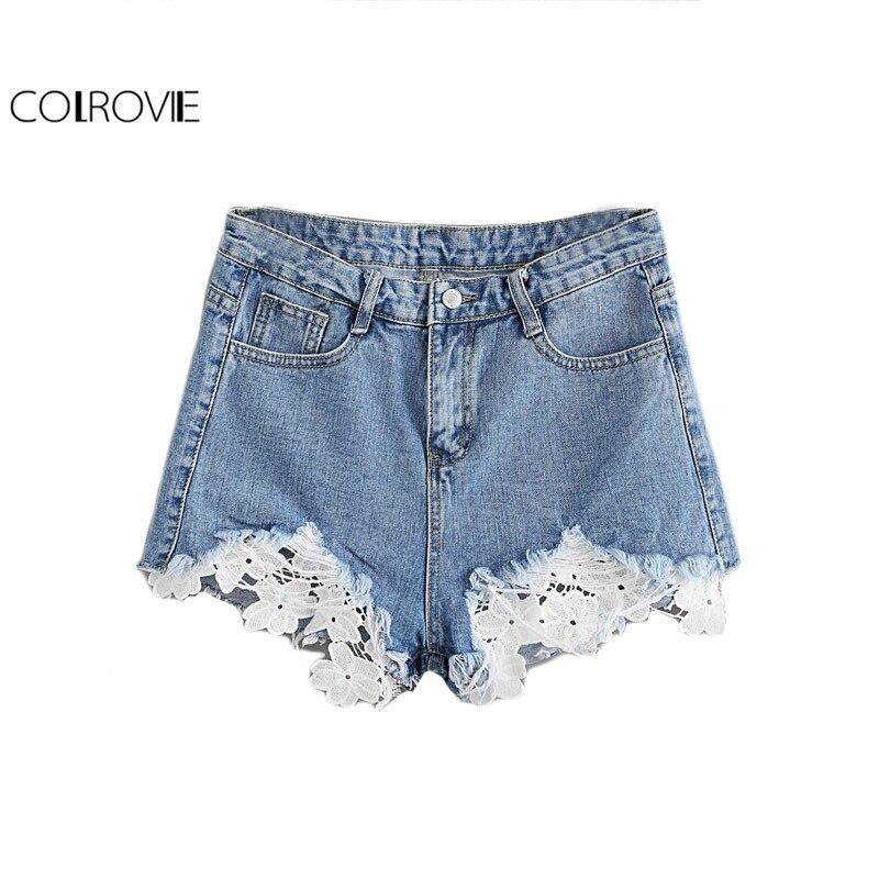 Online Get Cheap Crochet Denim Shorts -Aliexpress.com | Alibaba Group