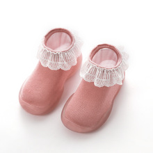 Lace Baby Girls Boys Shoes Soft and Comfortable Children Att