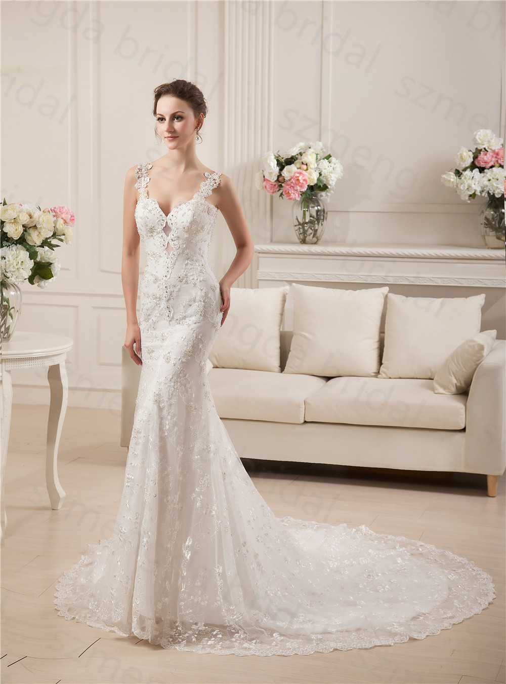 fitted lace wedding dress Jovani Bridal JB http www jovani com wedding dresses