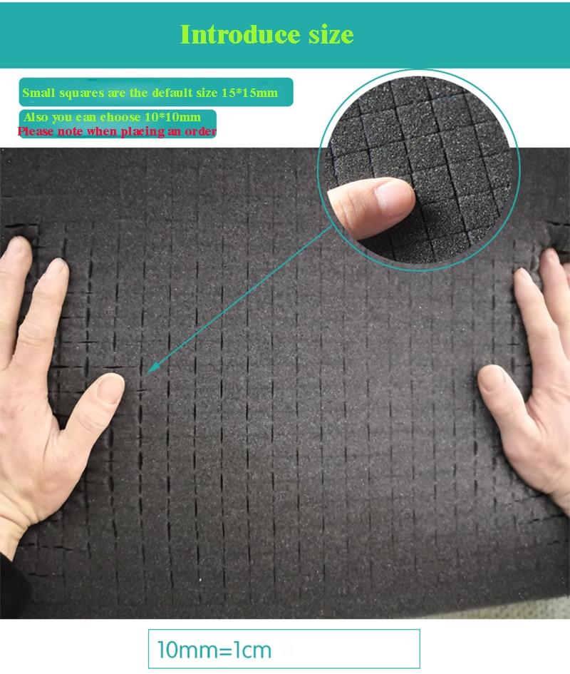 Pick Pluck Foam Pre-cut Foam For Plastic Tool Box Tool Case